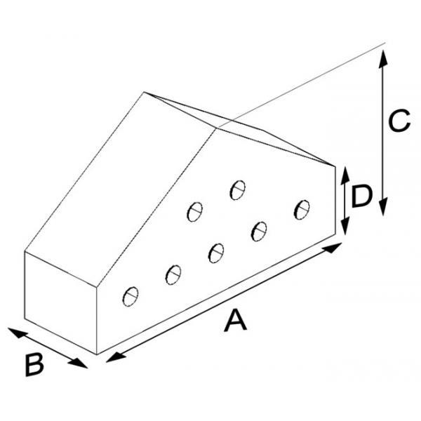 Small Coping Press Brick