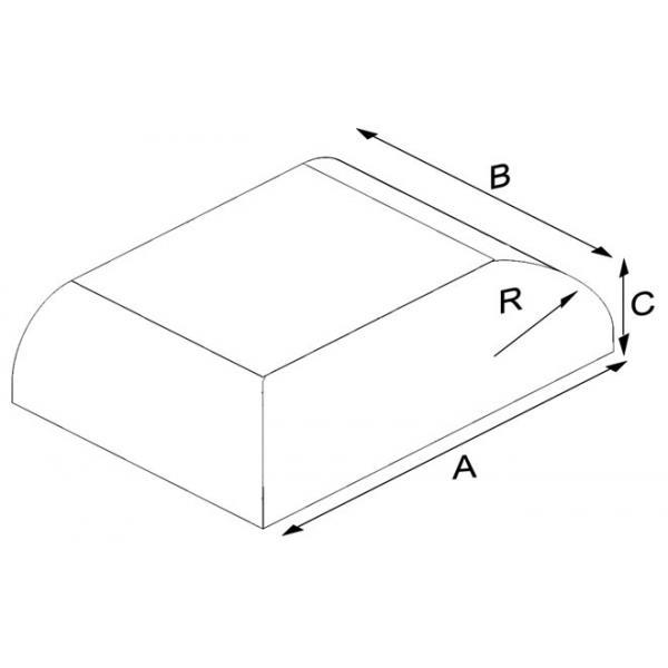 Oval Press Thin Ending Brick