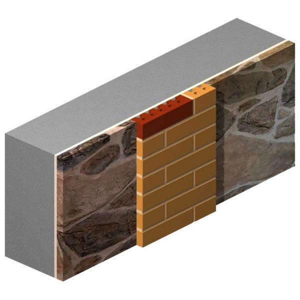 Pressed Brick with Cut-To-Hole