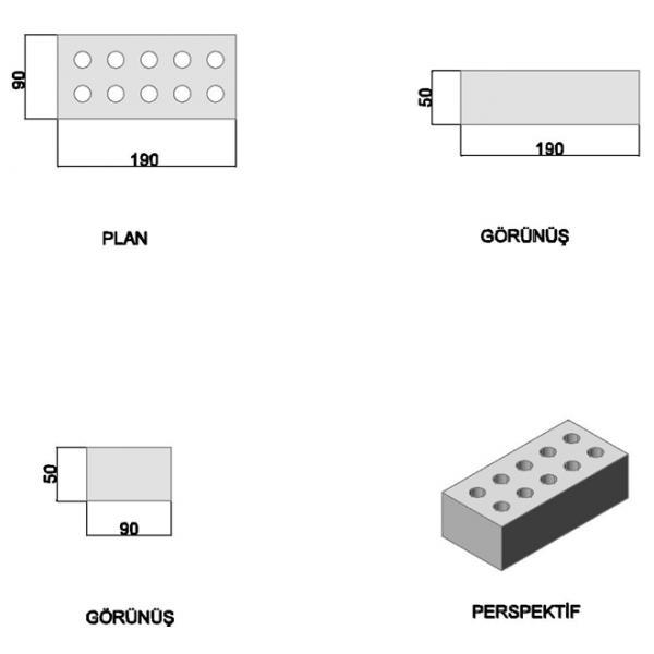 Flat Pressed Brick