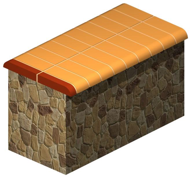 Stone Wall Finish Brick (Solid)