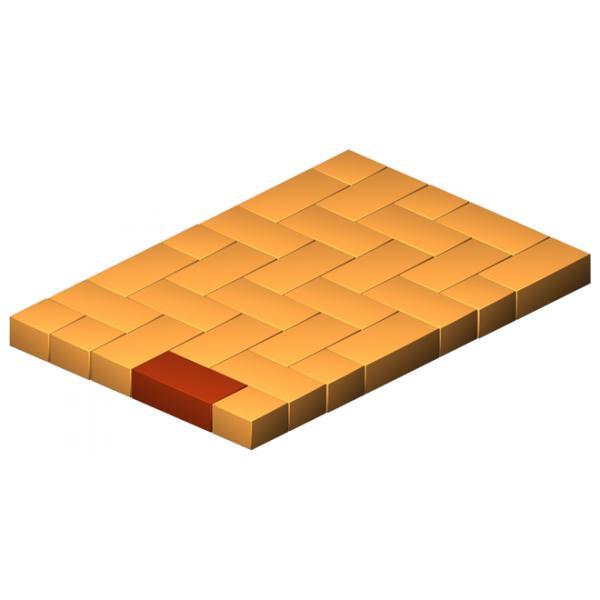 Thick Clinker Base Brick Flat