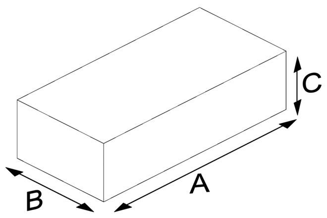 Flat Pressed Brick (Solid)