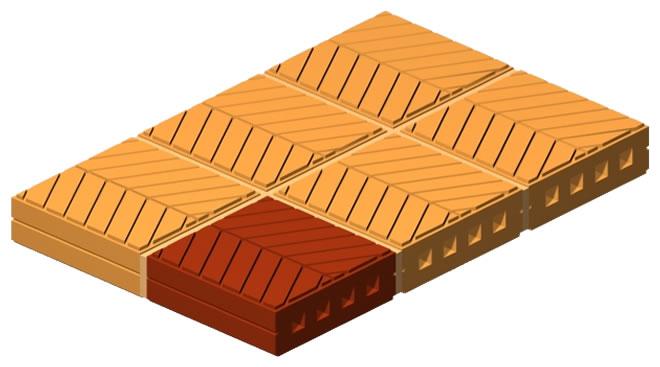 Channel Base Brick
