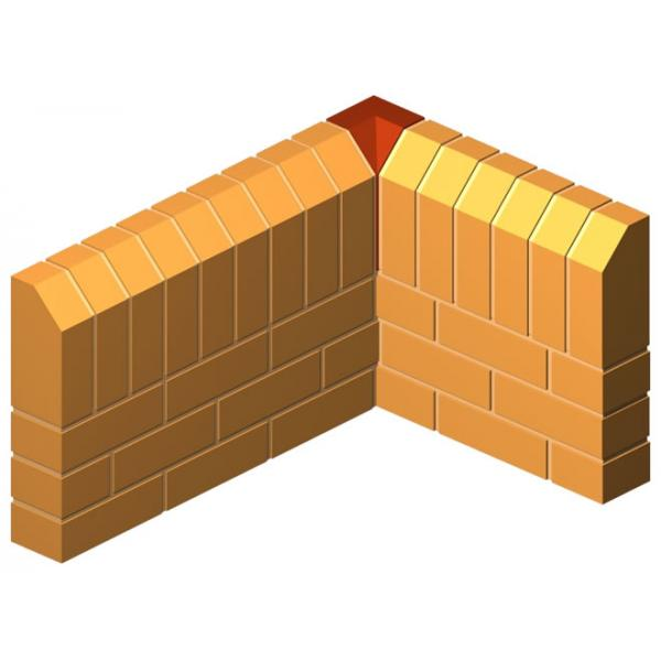 Internal Corner Return Press Brick