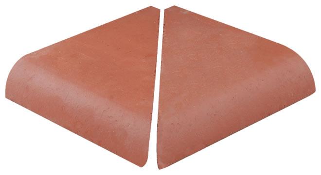 Taş Duvar Üstü Harpuşta Tuğlası (Dış Köşe)