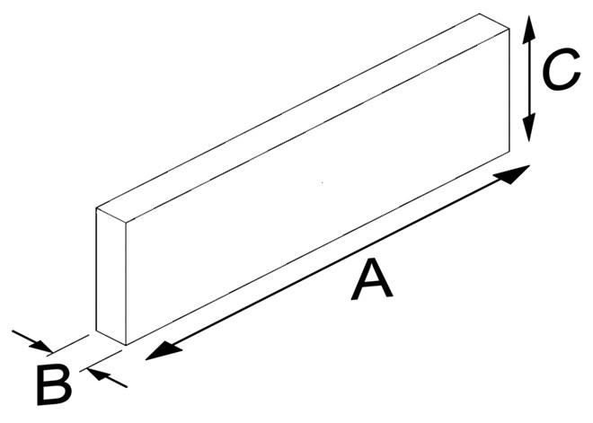 Flat Veneer Brick Small