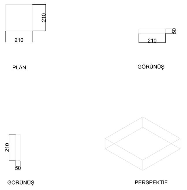 Square Clinker Floor Brick 5 cm
