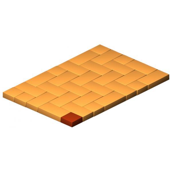 Half Thin Clinker Base Brick Flat