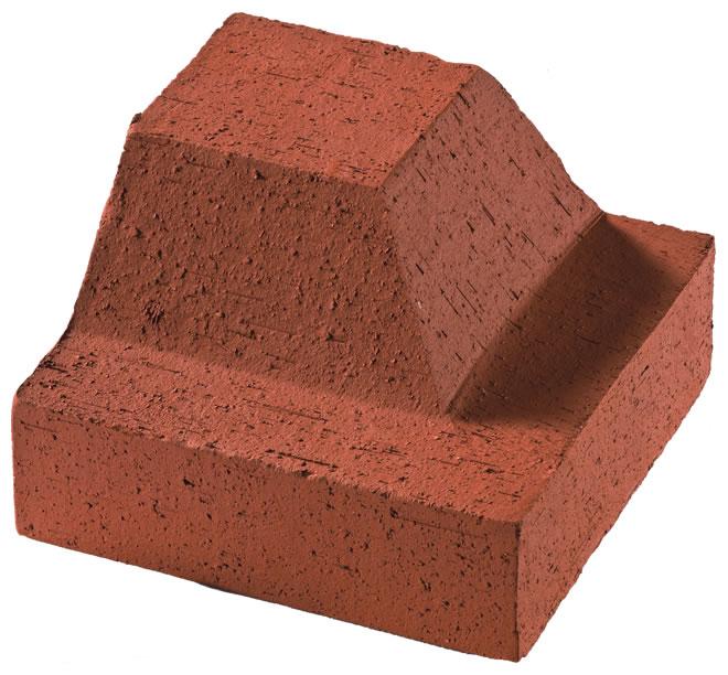 Clinker Border Outer Corner Brick (Thin)