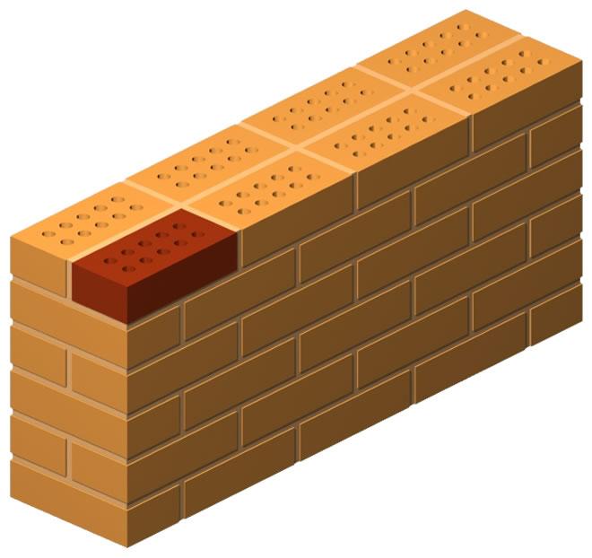 Porous Press Brick