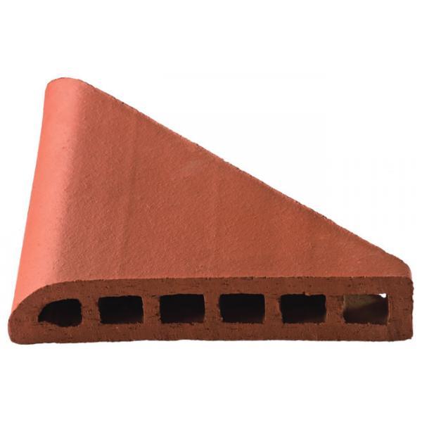 Taş Duvar Üstü Tuğlası 24 cm (İç Köşe)