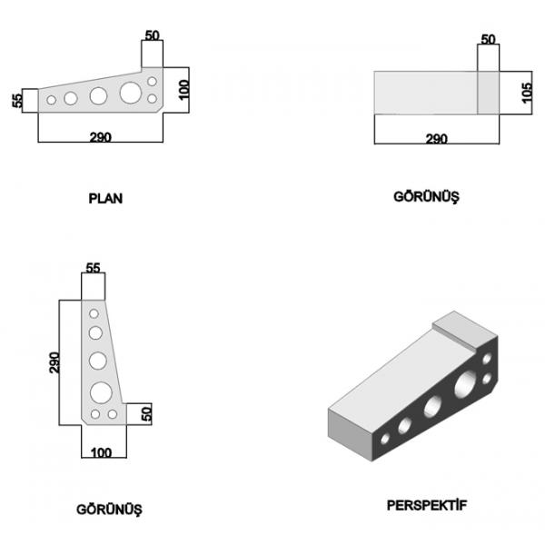 Sill Press Brick (Large)