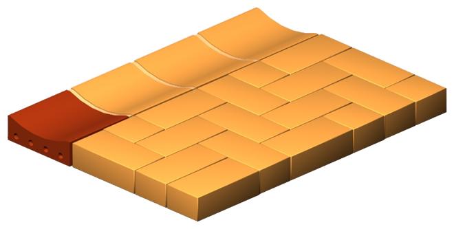 Channel Brick (Double)