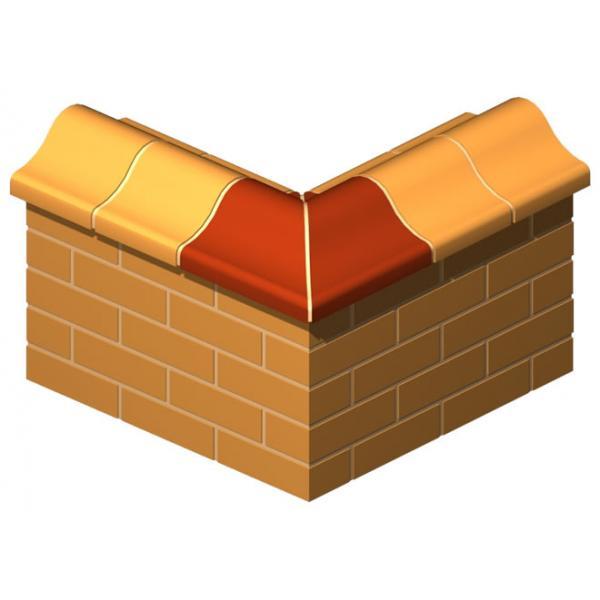 Backbone Coping Corner Brick