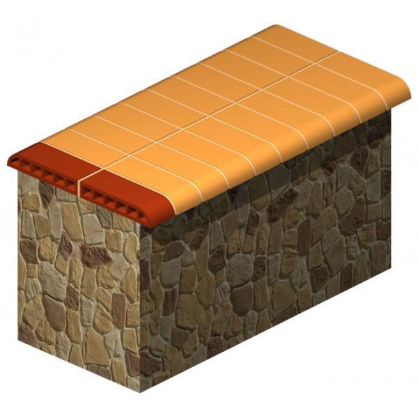 Taş Duvar Üstü Tuğlası
