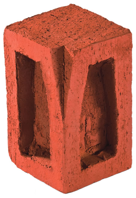 Clinker Border Inner Corner Brick (Thick)