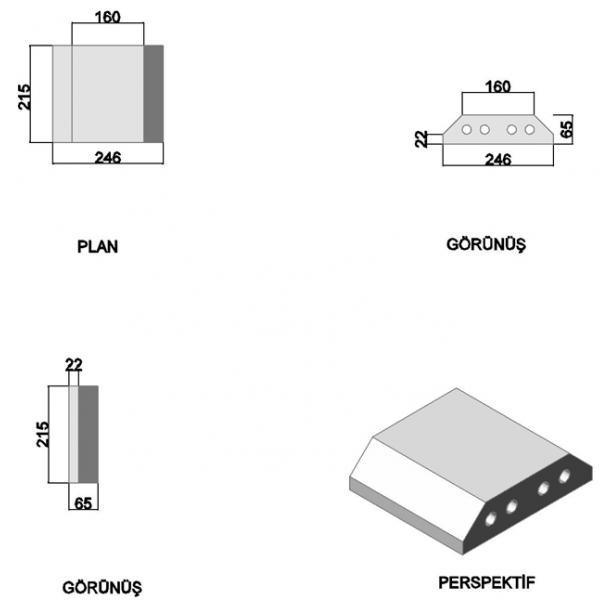 Double Angle Press Brick