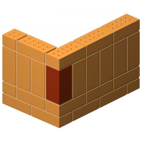 Corner Press Return Brick